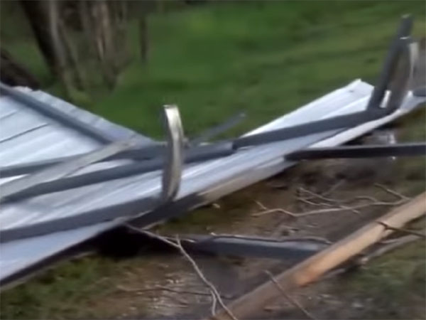 米テキサス州で起きた竜巻の被害の写真